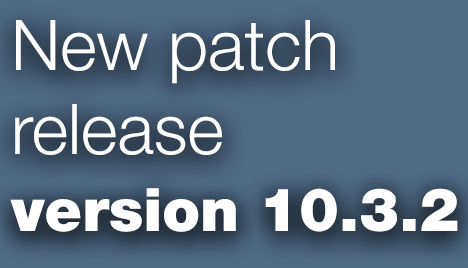 Open Inventor Toolkit patch release 10.3.2 is available