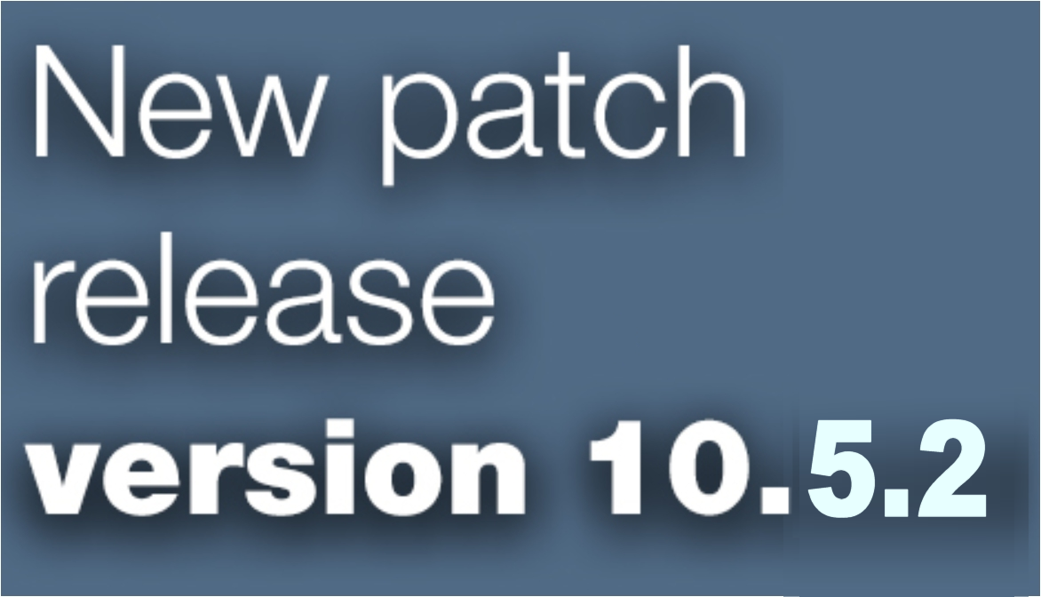 Open Inventor patch release 10.5.2 is available