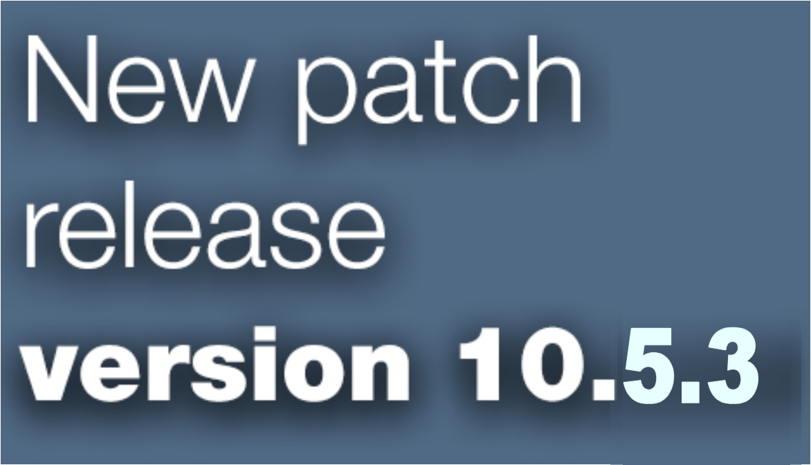 Open Inventor patch release 10.5.3 is available
