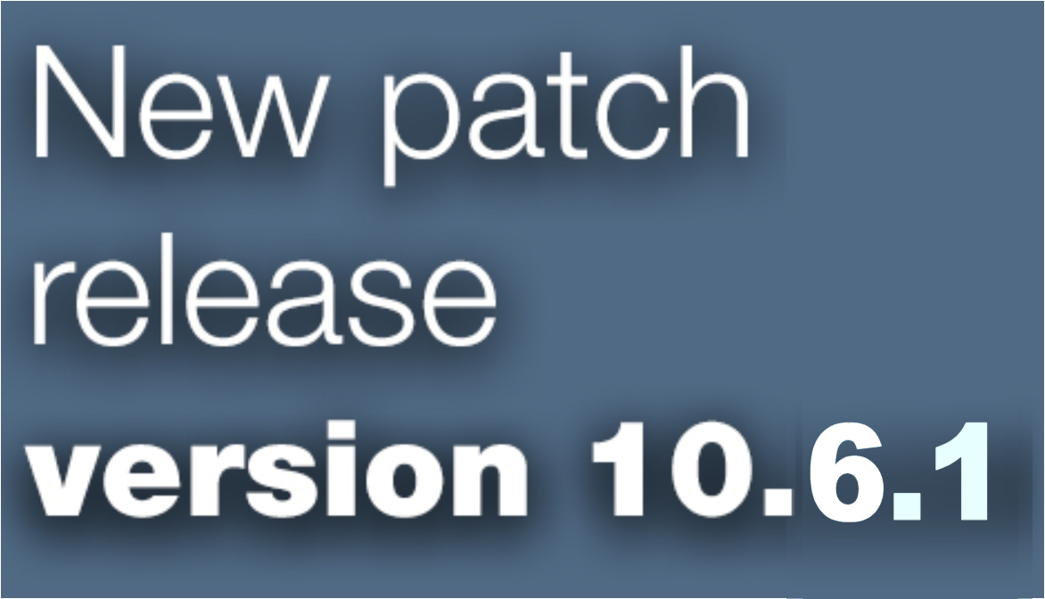 Open Inventor patch release 10.6.1 is now available