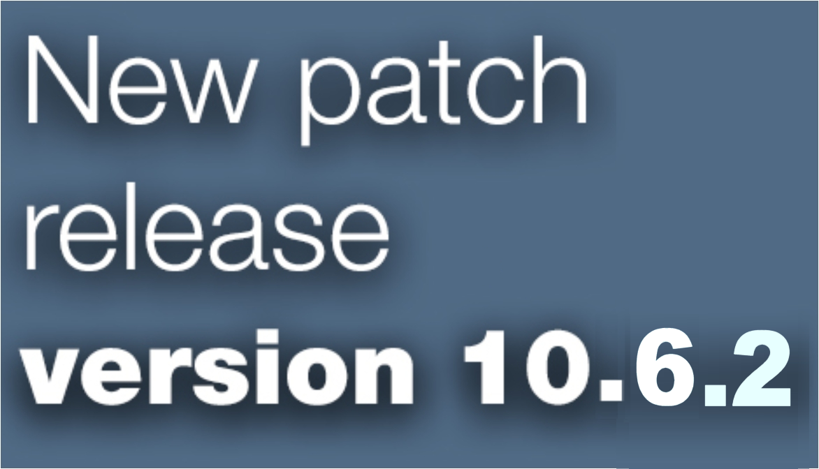 Open Inventor patch release 10.6.2 is available