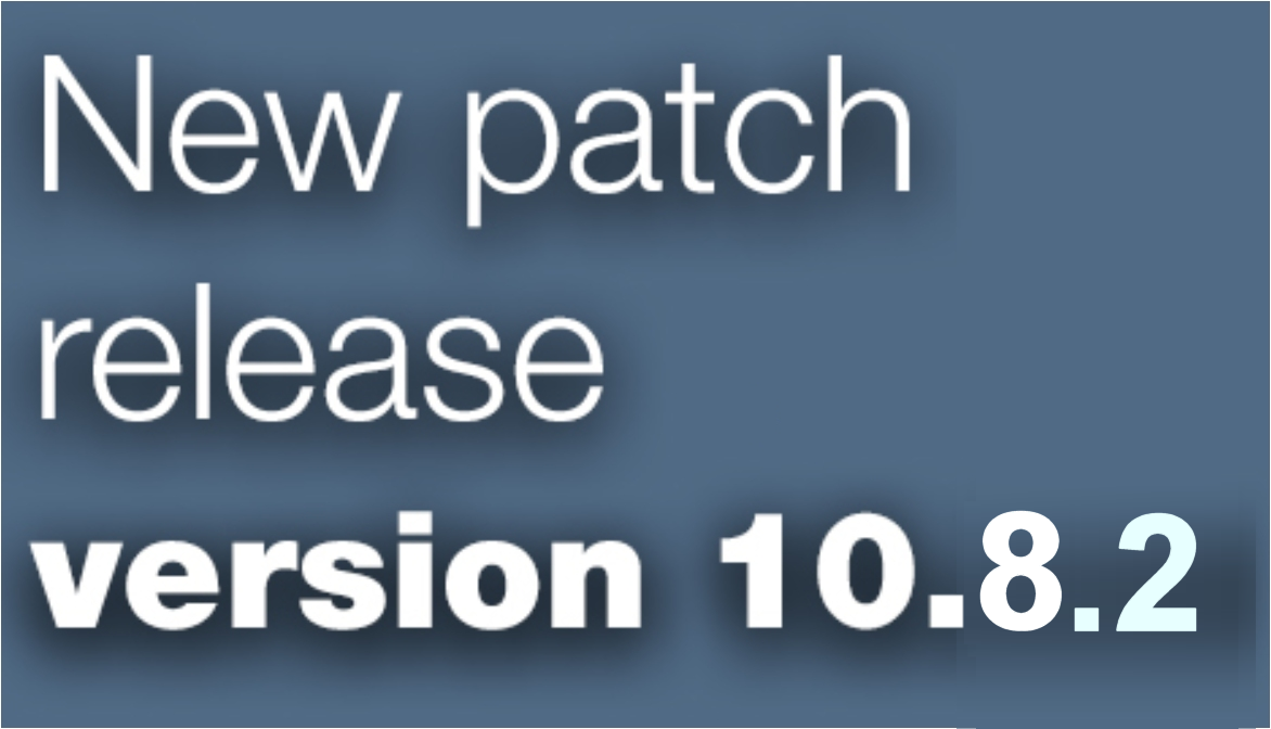 Open Inventor patch release 10.8.2 is available