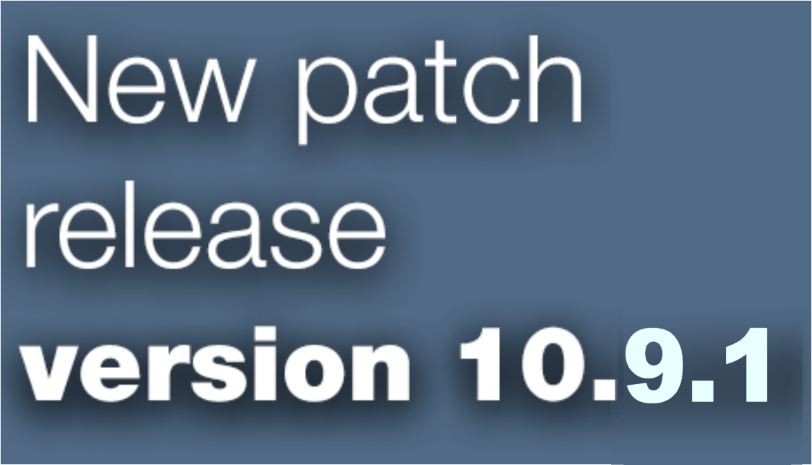Open Inventor patch release 10.9.1 is available