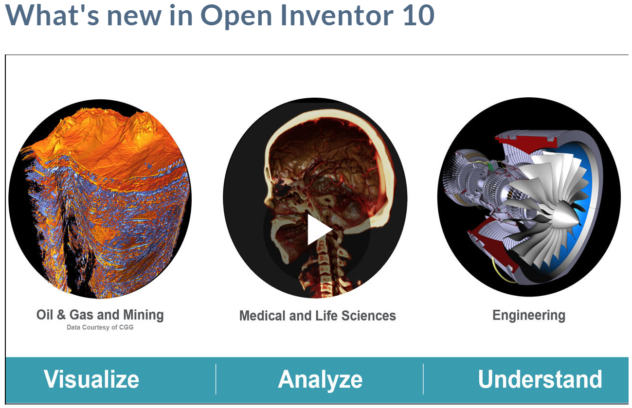 Webcast: What's New in Open Inventor 10