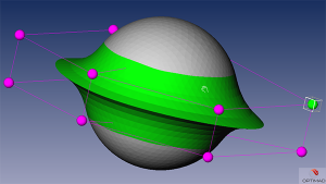 CAMILO 3D-surface design tool for aerodynamic optimization (OPTIMAD)