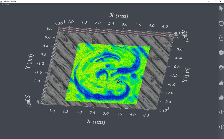 Thermo Scientific OMNICxi software adds 3D visualization
